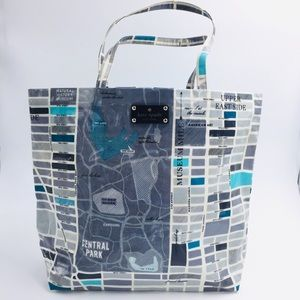 Kate Spade New York NYC Street Map Tote Bag Purse